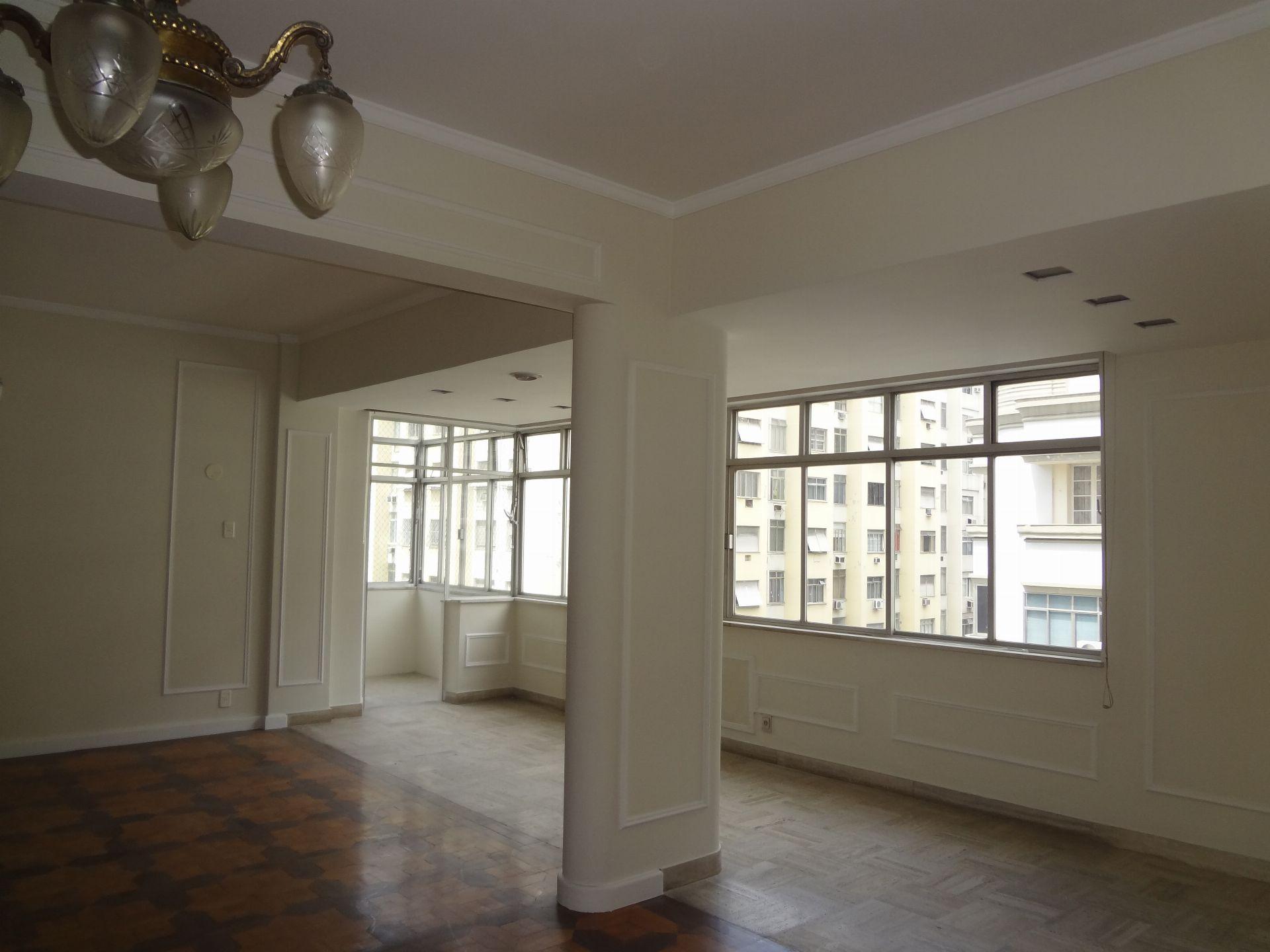 Salão e varanda  - Apartamento Para Venda ou Aluguel - Copacabana - Rio de Janeiro - RJ - 207 - 3